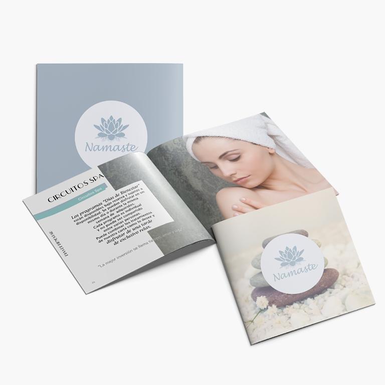 Custom Brochure Design - Namaste